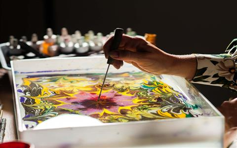 The Magical Journey of Marbling Art